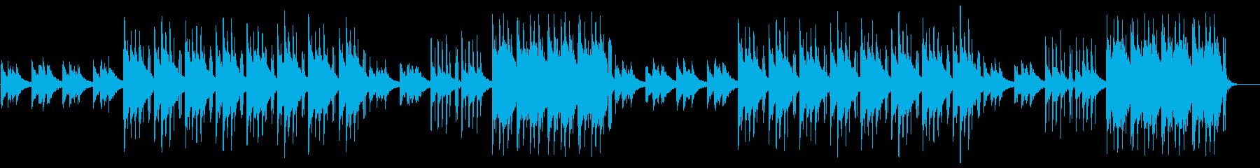 チルアウト lo-fiヒップホップの再生済みの波形