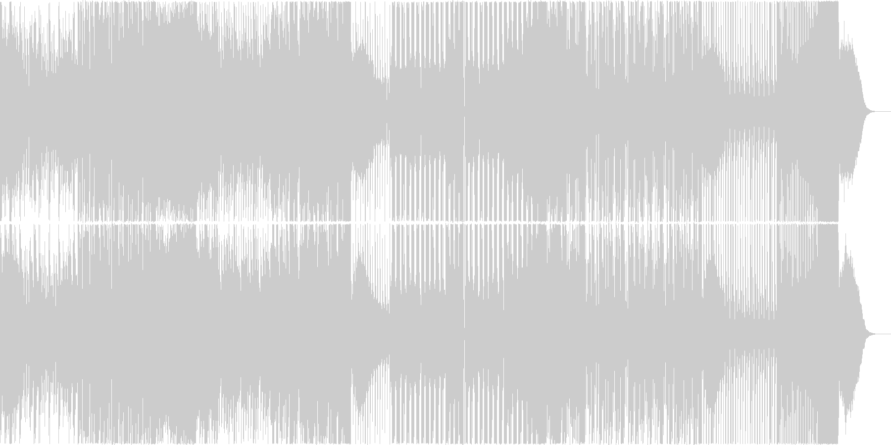EDM MIX シリアス ニュース 混沌の未再生の波形