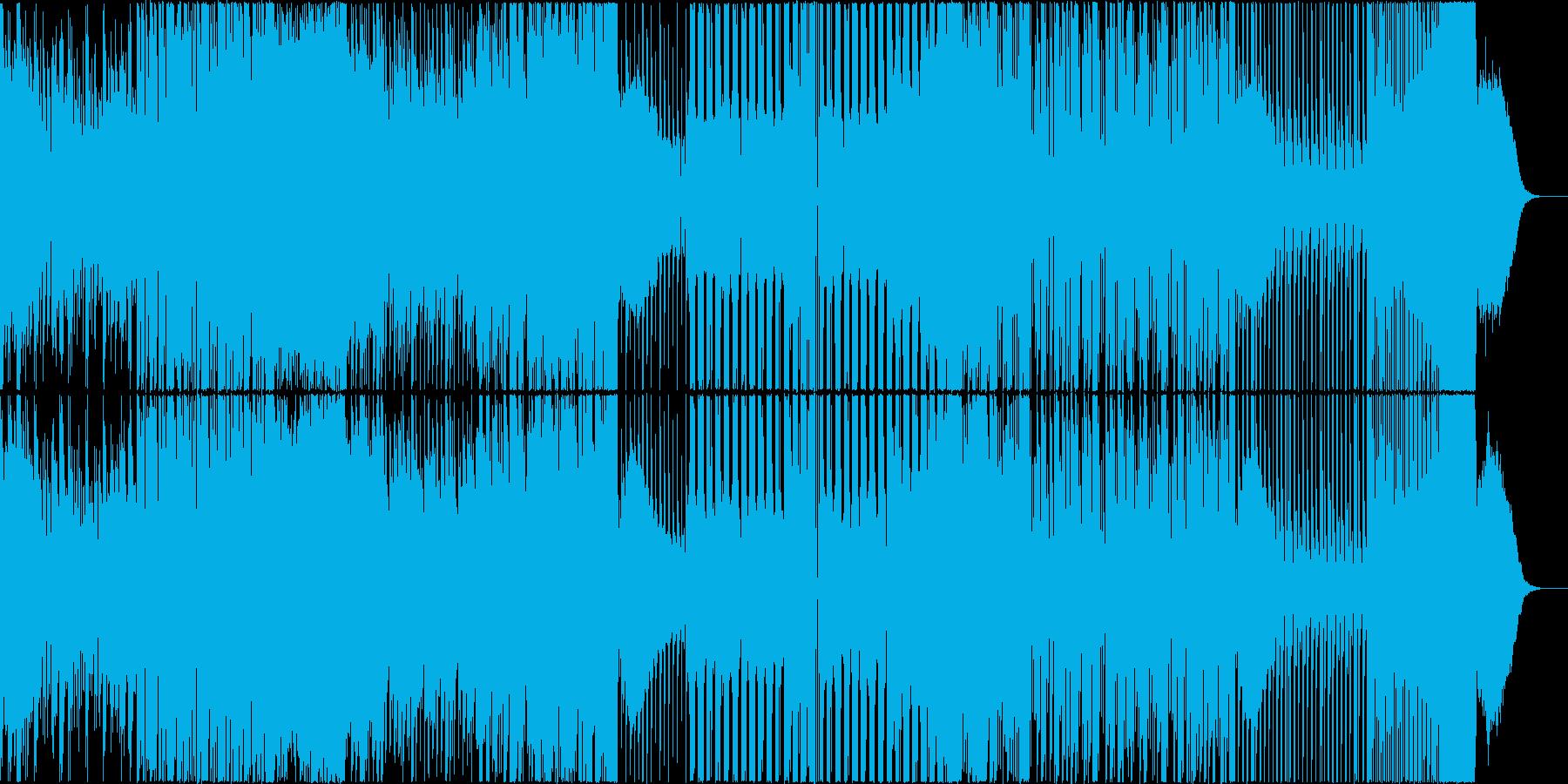 EDM MIX シリアス ニュース 混沌の再生済みの波形