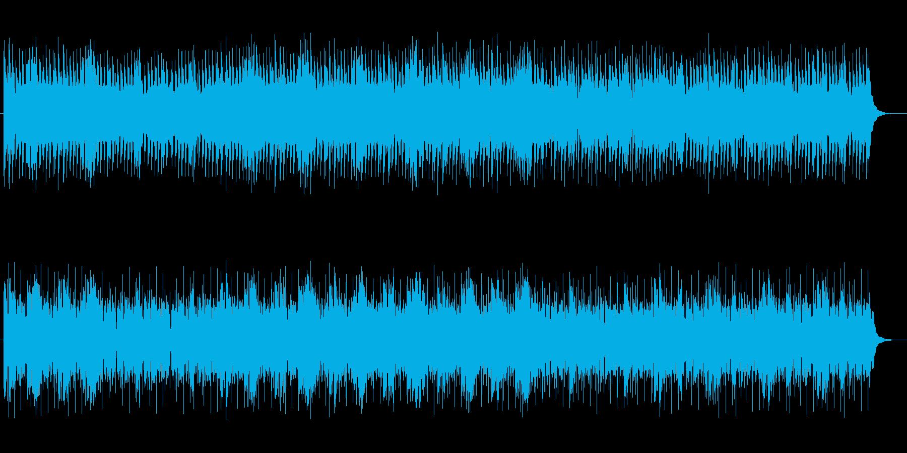 マイナーで神秘的なシンセテクノサウンドの再生済みの波形