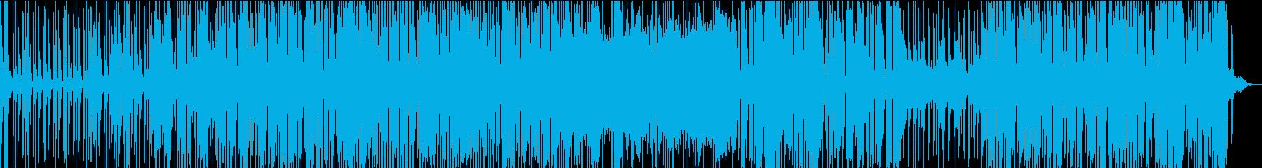 シンプルで流れるように穏やかなレゲエの再生済みの波形