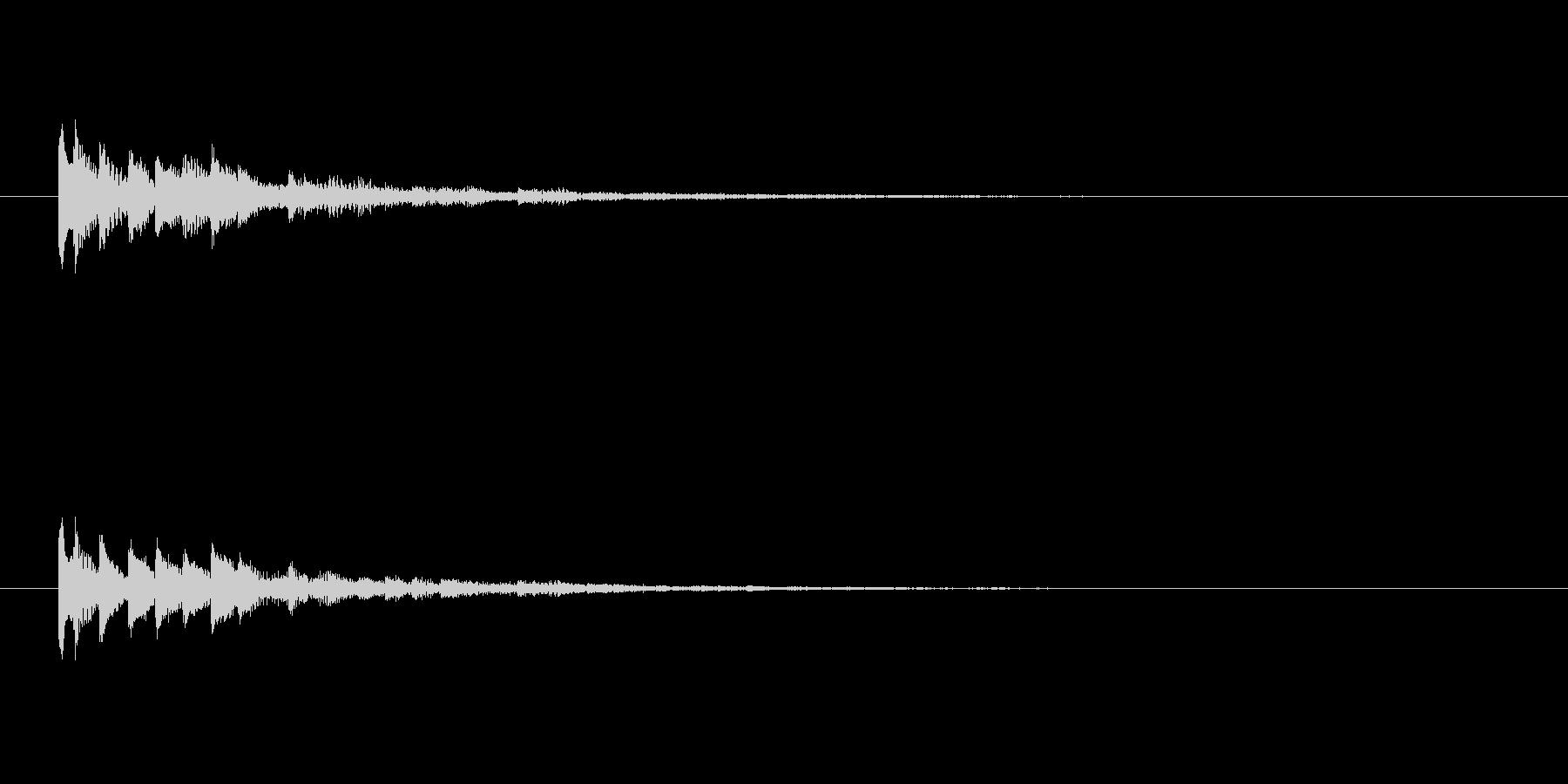 【ショートブリッジ14-3】の未再生の波形