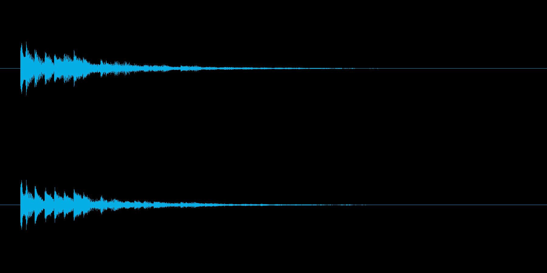 【ショートブリッジ14-3】の再生済みの波形