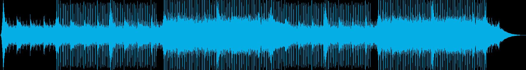企業VP系37、爽やかギター4つ打ちaの再生済みの波形