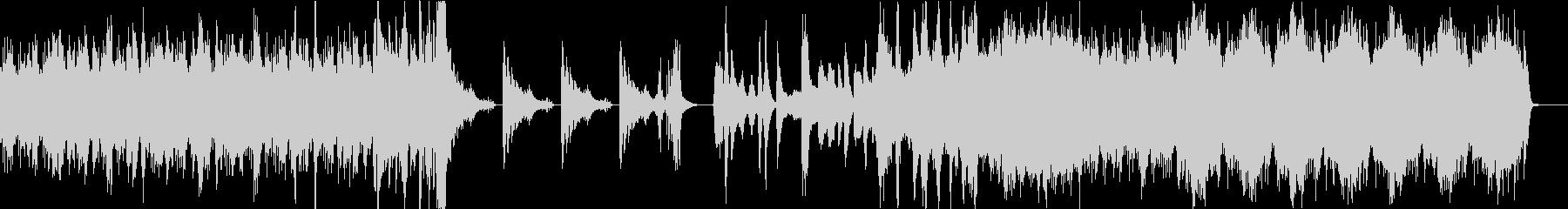 頭に残る奇妙な和風ホラーBGMの未再生の波形