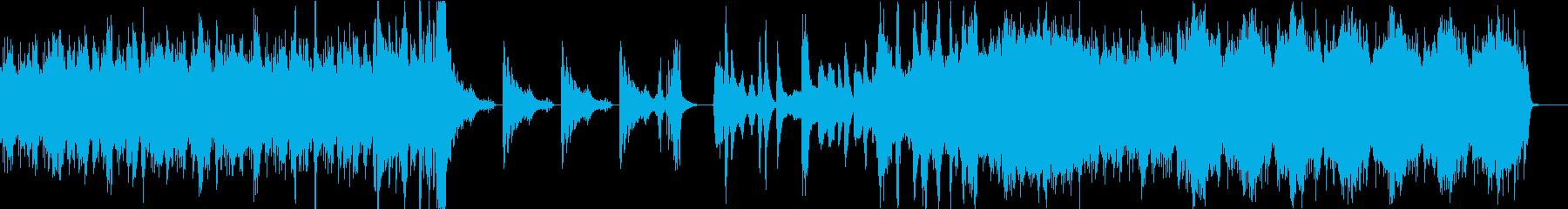 頭に残る奇妙な和風ホラーBGMの再生済みの波形