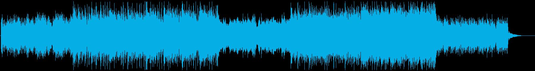 ハイブリッドシネマティック/メインテーマの再生済みの波形
