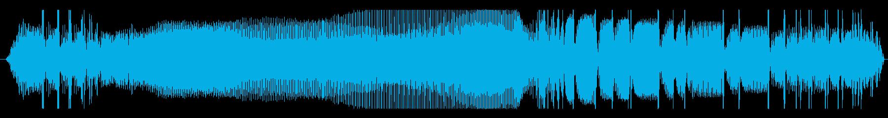 車 VW T1 アイドル加速減速度01の再生済みの波形