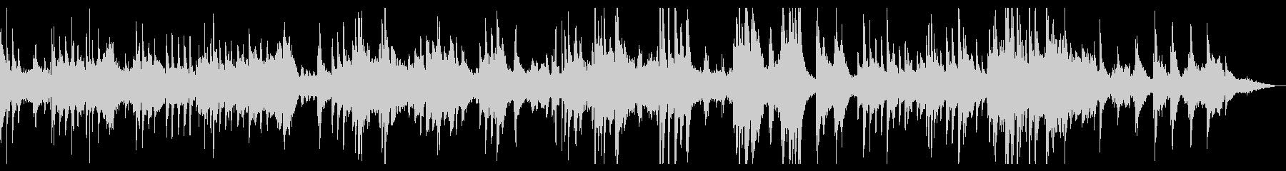 瞑想・ヨガ・癒し ピアノのヒーリング音楽の未再生の波形