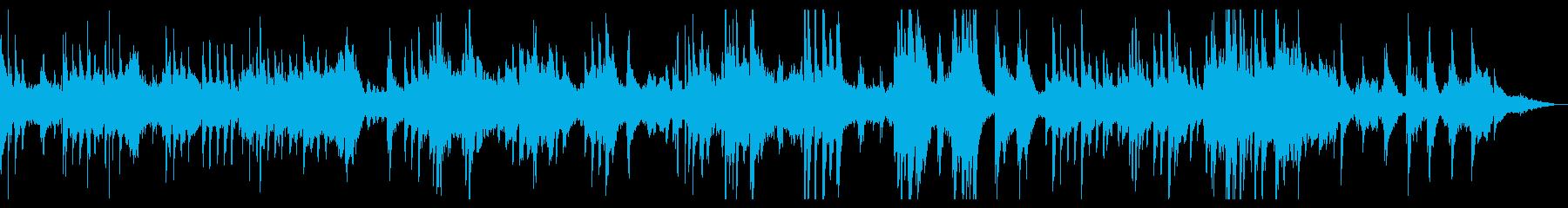 瞑想・ヨガ・癒し ピアノのヒーリング音楽の再生済みの波形