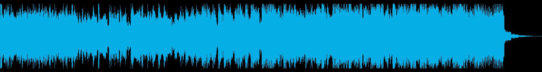 若干シュールでクールな短めチップチューンの再生済みの波形