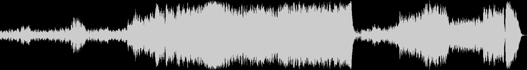 ホルストの「火星」ショートver.の未再生の波形