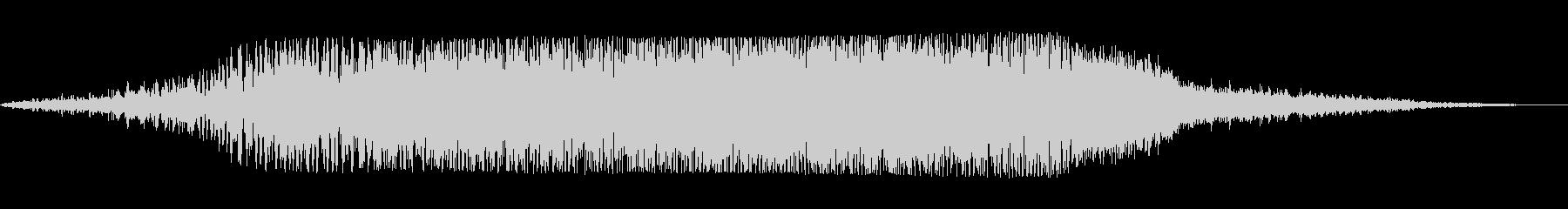 ビューン(神聖な響きの魔法音)の未再生の波形