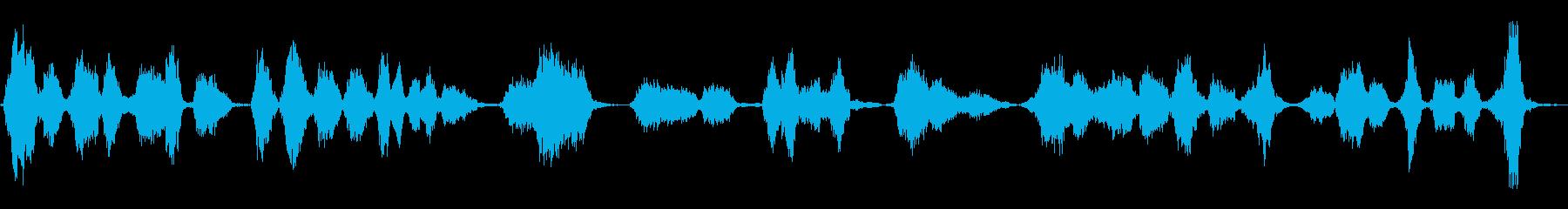 小学生:ABCの歌の再生済みの波形
