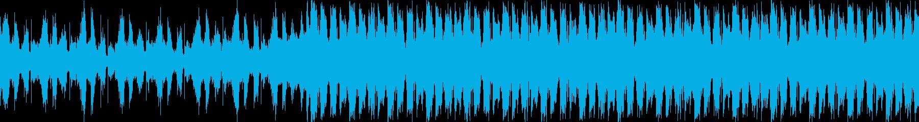 VP、CM、クールで穏やかな透明感ループの再生済みの波形