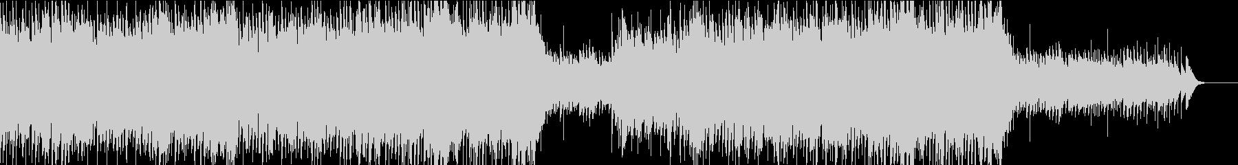ワルツ風のBGMの未再生の波形