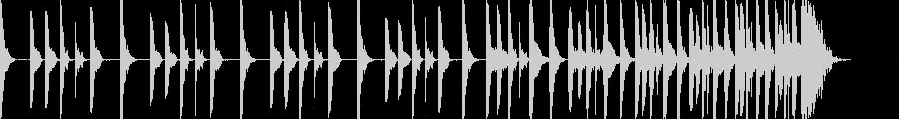 ハラハラドキドキ シンキングタイム10秒の未再生の波形