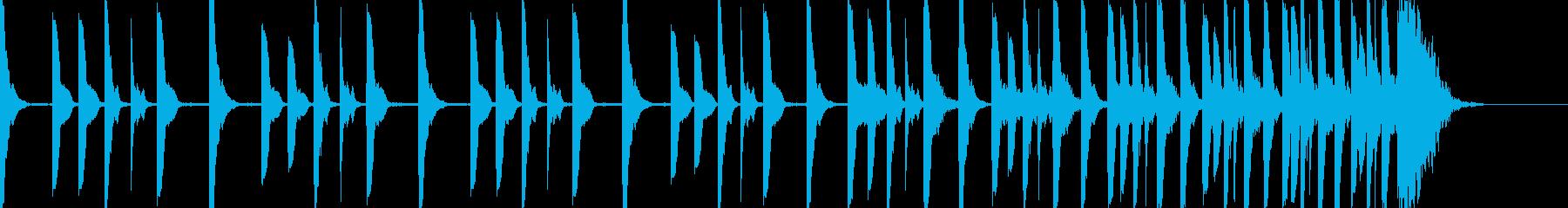 ハラハラドキドキ シンキングタイム10秒の再生済みの波形