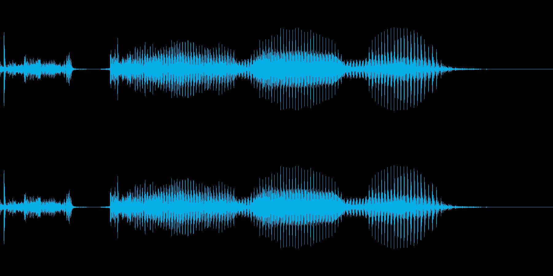 きかえねえなの再生済みの波形