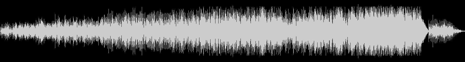 ピアノとブラス_ゆったり軽快なスウィングの未再生の波形