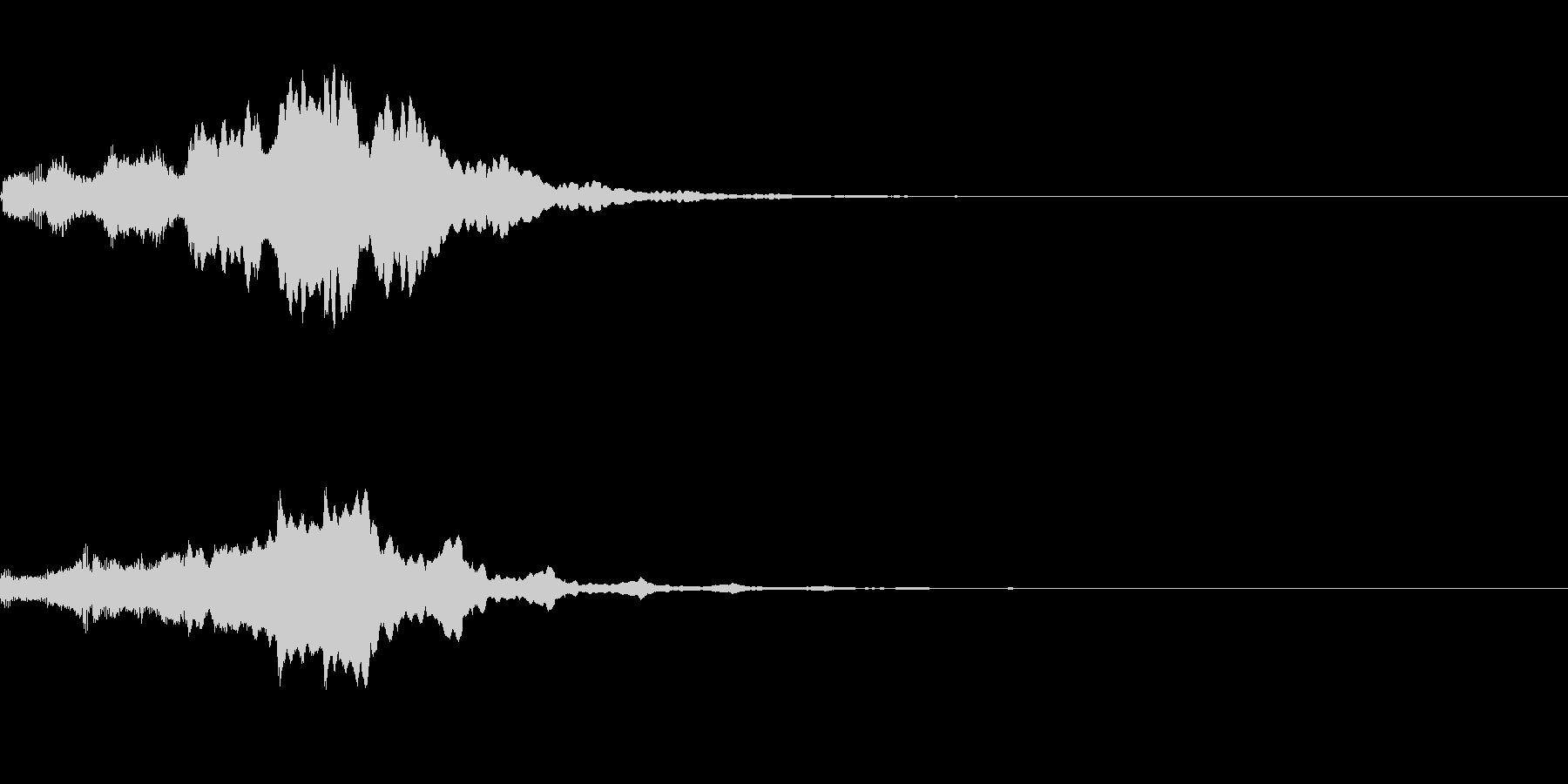 ぴぽぴぽ(ロゴ出現音)A05の未再生の波形