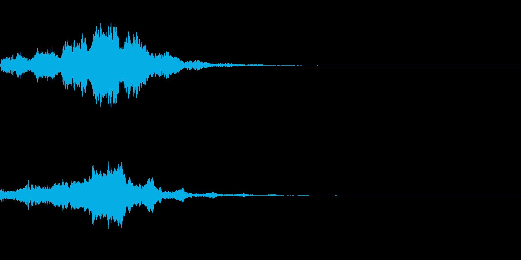 ぴぽぴぽ(ロゴ出現音)A05の再生済みの波形