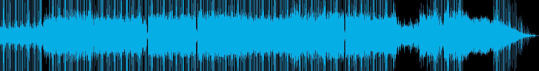 独特なリズで夜を感じるメロディーの再生済みの波形