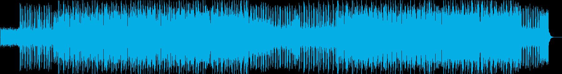 スリル スピード 都会 激しいの再生済みの波形