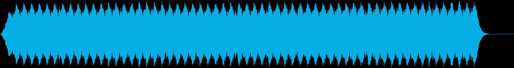 低速パルス低ドローンパルス、低の再生済みの波形