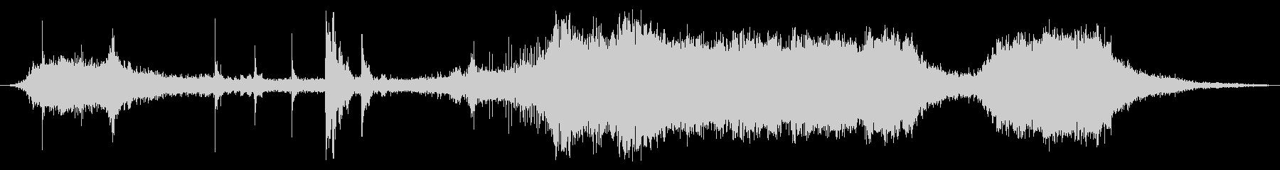 ガスチェーンソー:ショートカット、...の未再生の波形