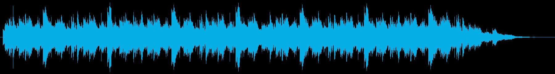ハープとピアノのユニゾン やさしい記憶の再生済みの波形