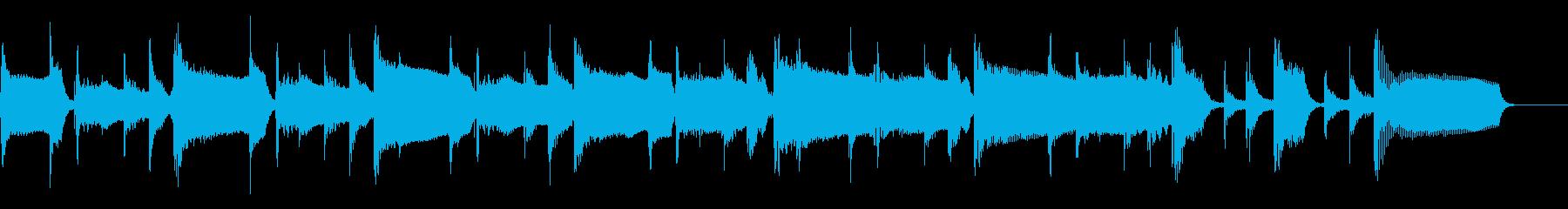 2、中速テンポ、ベース、パーカッシ...の再生済みの波形