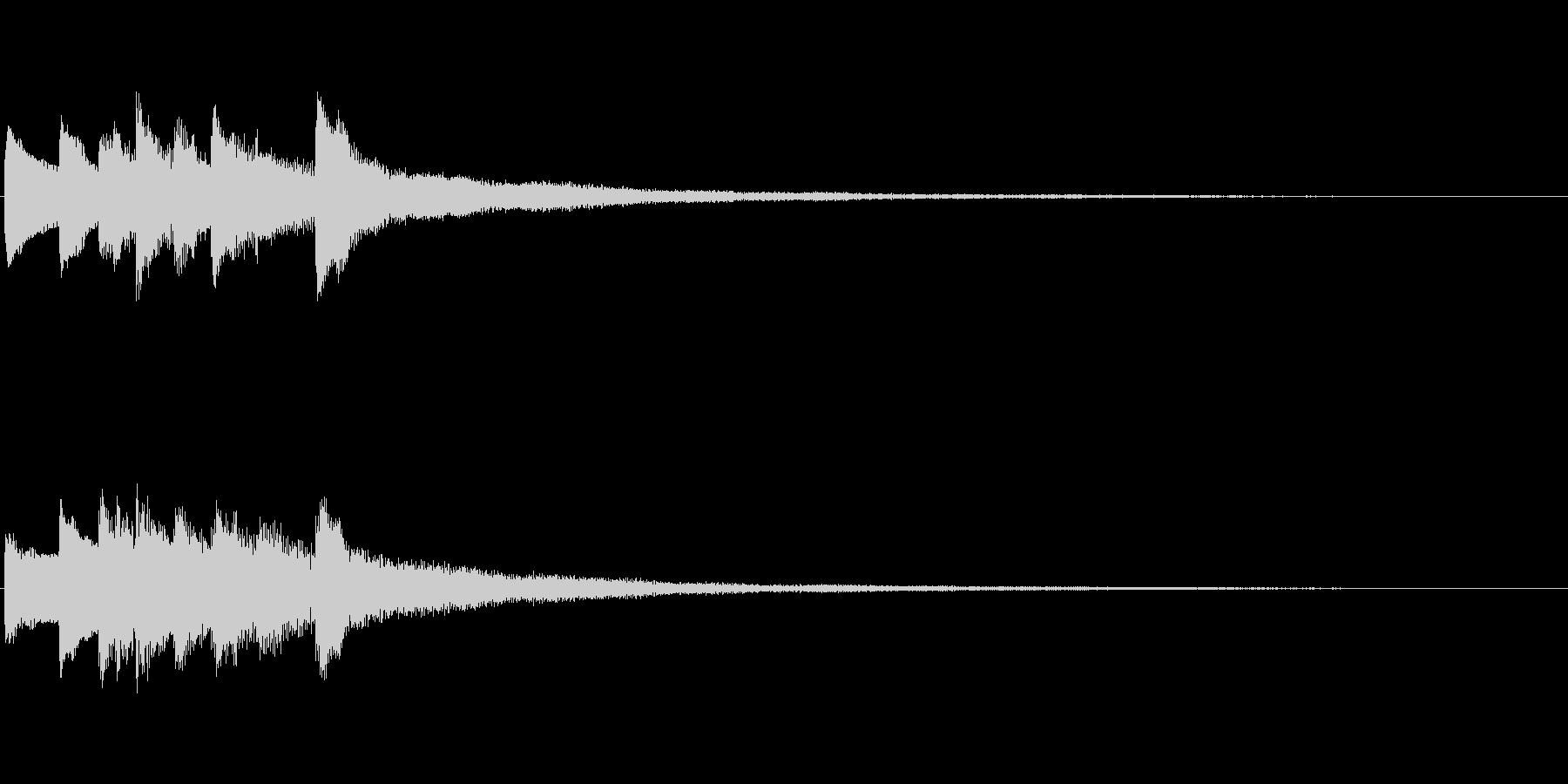 ピアノソロサウンドロゴ 優雅 大人 05の未再生の波形