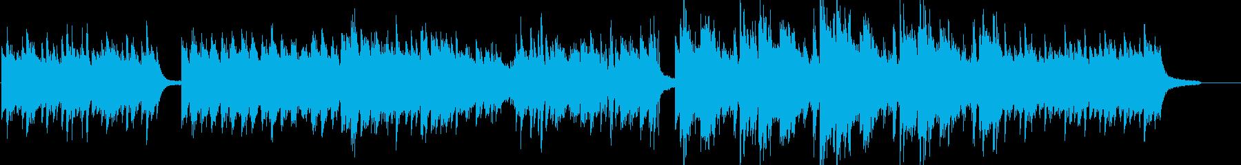 【ピアノソロ】幻想的で夜のイメージした曲の再生済みの波形