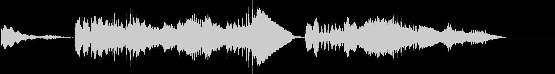 何かを予感させるクラシック マーラーの未再生の波形