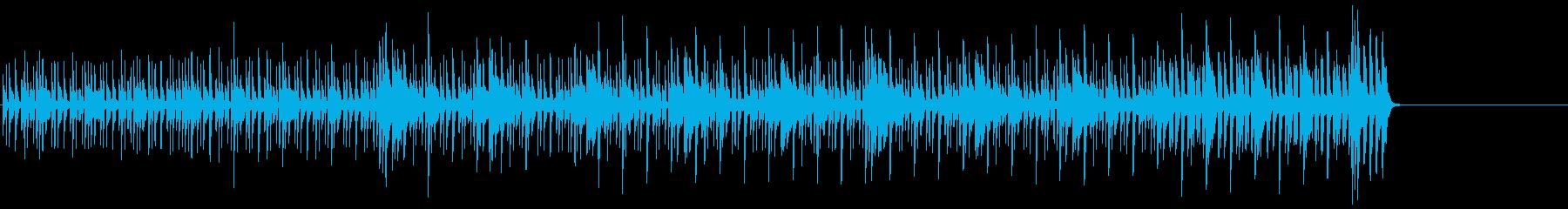 パーカッシヴでタイトなサウンドの再生済みの波形