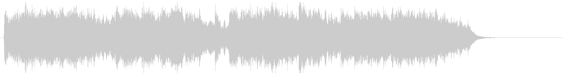 Very relaxed string pop's unreproduced waveform