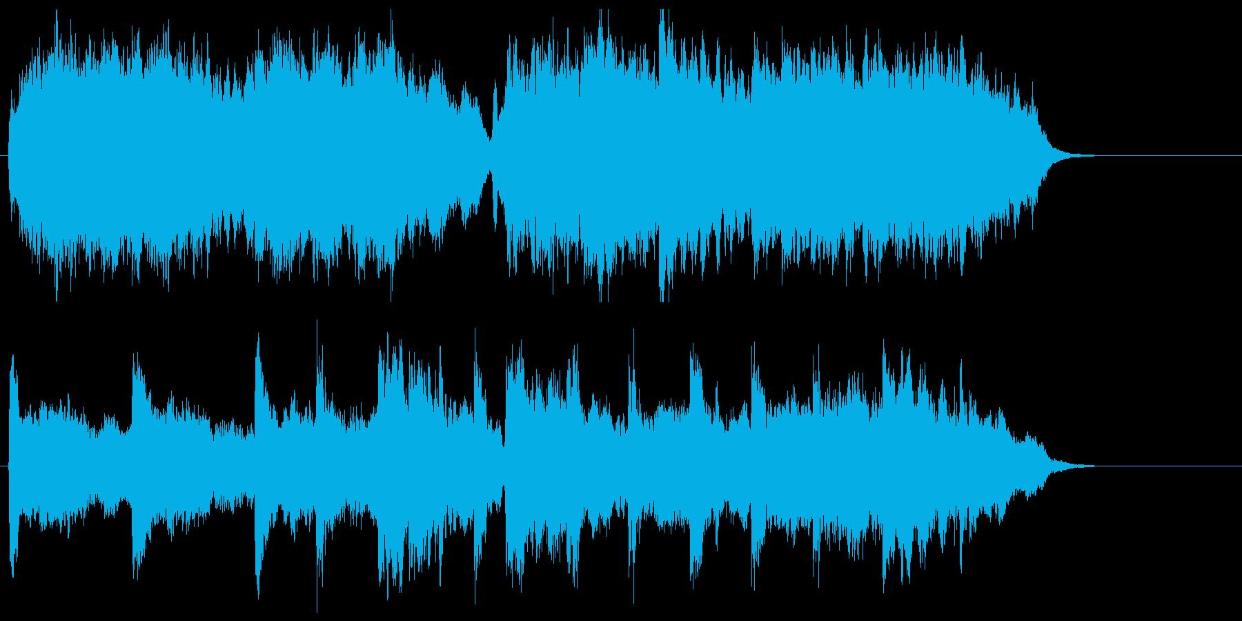 まったりと緩やかなストリングスポップの再生済みの波形