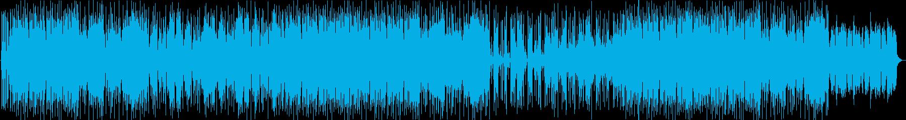 和風・おしゃれ・ポップ・尺八・琴の再生済みの波形