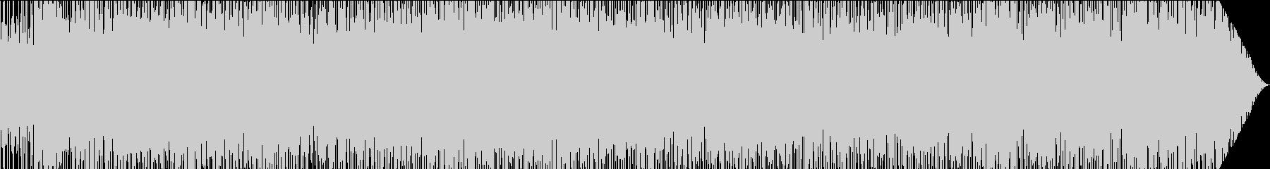 トロピカルなサンバの未再生の波形