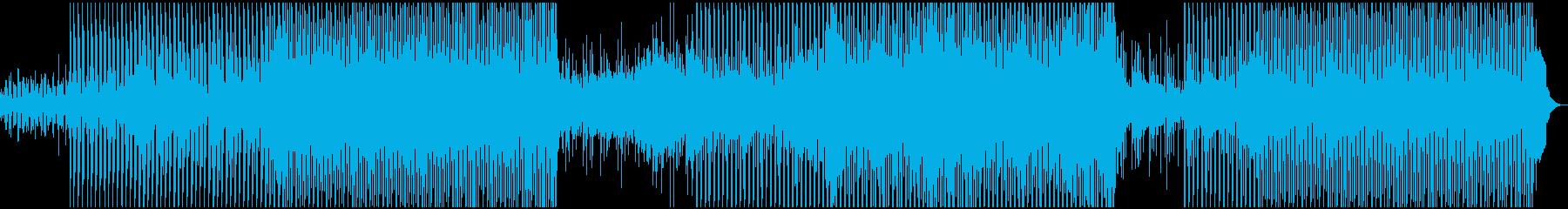 現代の電子サウンドトラックは、特に...の再生済みの波形