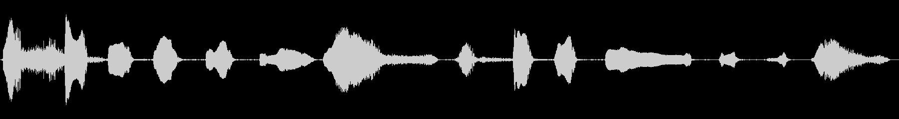 ハード女性笑い;ヴィンテージ録音;...の未再生の波形