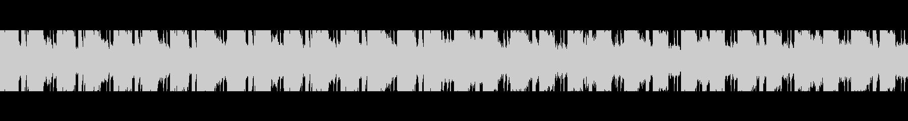 中東砂漠(ループ)の未再生の波形