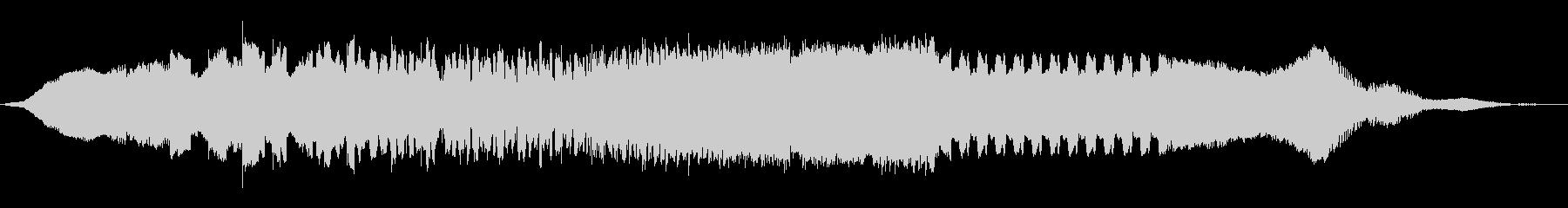 ワープフィールド信号の未再生の波形