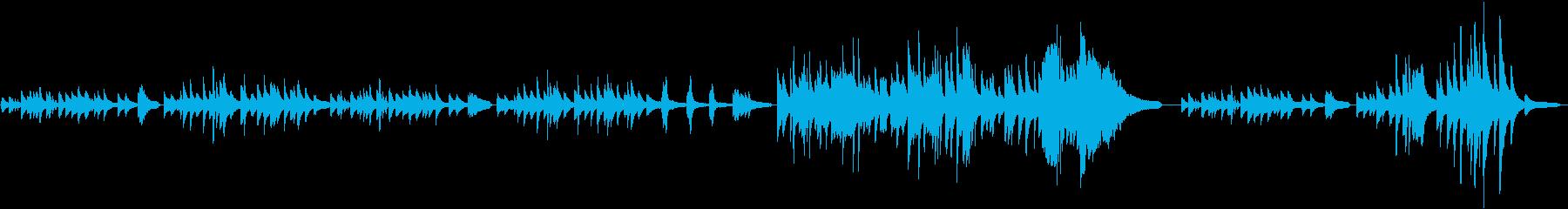 独特な浮遊感のヒーリング、ピアノソロ♪の再生済みの波形