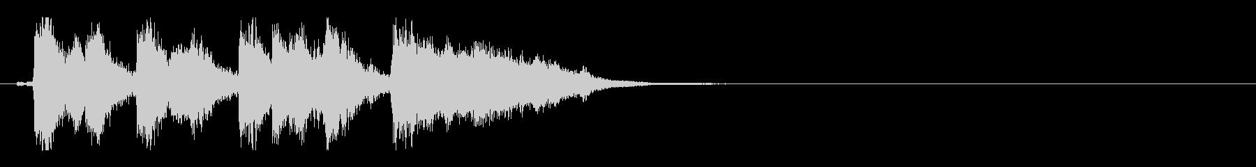 懐かしのカトゥーンアニメ系ジングルの未再生の波形