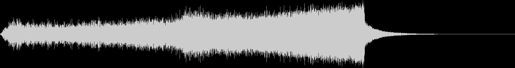 CINEMATIC RISER_32の未再生の波形