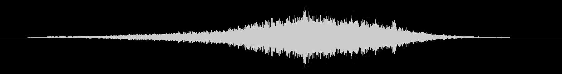 音楽スティンガー;演奏する前のオー...の未再生の波形