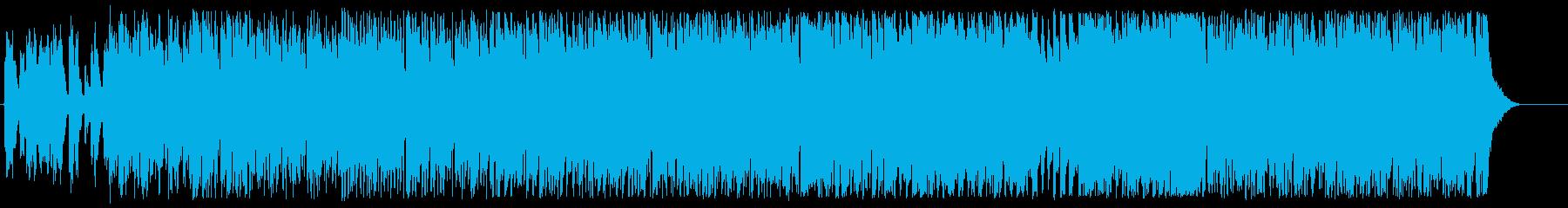 軽快でゴキゲンなフュージョンの再生済みの波形