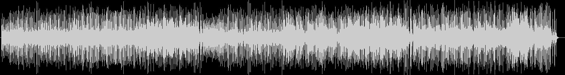 はずむテンポのシンセサイザーサウンドの未再生の波形